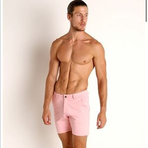 Timoteo Pink Chelsea Short